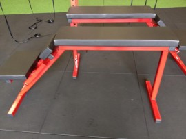 JME - Adjustable Prone Row - Pull Bench