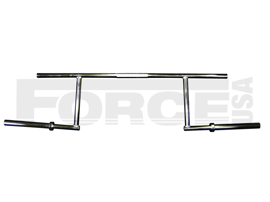 Force Usa Rackable Cambered Squat Bar Jme