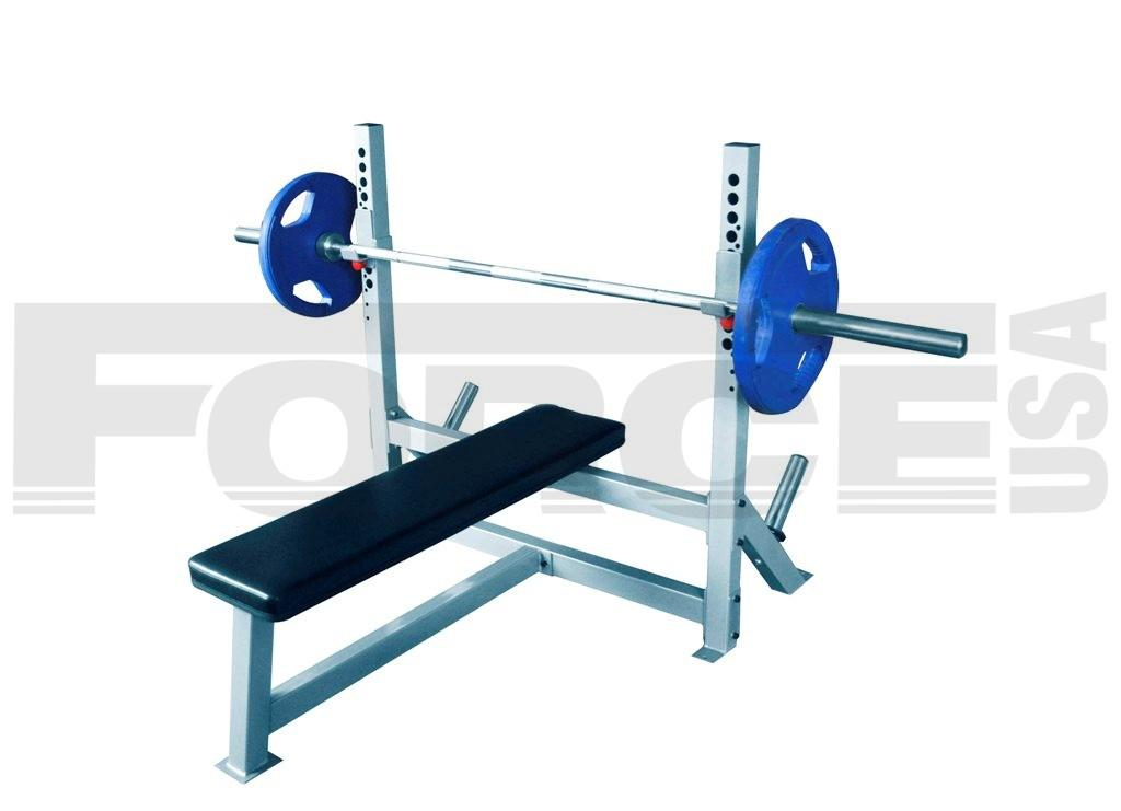 Force Usa Fixed Olympic Bench Press Jme Weightlifting Fitness Equipment