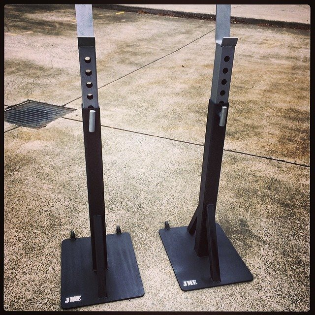 Jme V4 Heavy Duty Commerial Squat Stands Jme
